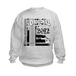 Original Muscle Car Gray Kids Sweatshirt