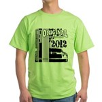 Original Muscle Car Gray Green T-Shirt