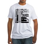 Original Muscle Car Gray Fitted T-Shirt
