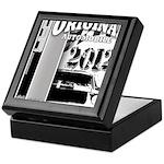 Original Muscle Car Gray Keepsake Box