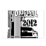 Original Muscle Car Gray Postcards (Package of 8)