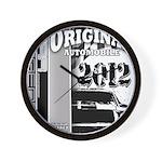 Original Muscle Car Gray Wall Clock