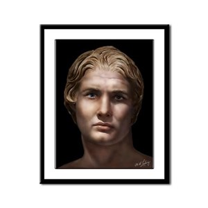 Alexander the Great Framed Panel Print