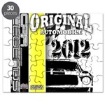Original Muscle Car Yellow Puzzle