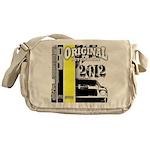 Original Muscle Car Yellow Messenger Bag