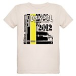 Original Muscle Car Yellow Organic Kids T-Shirt