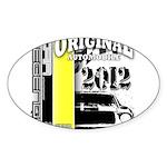 Original Muscle Car Yellow Sticker (Oval 10 pk)