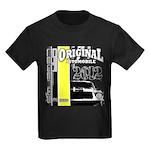 Original Muscle Car Yellow Kids Dark T-Shirt