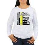 Original Muscle Car Yellow Women's Long Sleeve T-S