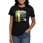 Original Muscle Car Yellow Women's Dark T-Shirt