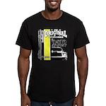 Original Muscle Car Yellow Men's Fitted T-Shirt (d