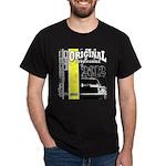 Original Muscle Car Yellow Dark T-Shirt