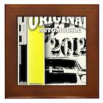 Original Muscle Car Yellow Framed Tile