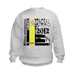 Original Muscle Car Yellow Kids Sweatshirt