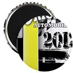 Original Muscle Car Yellow 2.25