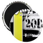 Original Muscle Car Yellow Magnet