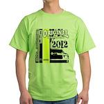 Original Muscle Car Yellow Green T-Shirt