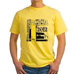 Original Muscle Car Yellow Yellow T-Shirt