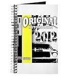 Original Muscle Car Yellow Journal