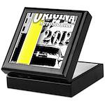 Original Muscle Car Yellow Keepsake Box