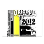 Original Muscle Car Yellow Postcards (Package of 8