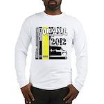 Original Muscle Car Yellow Long Sleeve T-Shirt