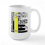 Original Muscle Car Yellow Large Mug