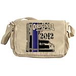 Original Muscle Car Blue Messenger Bag