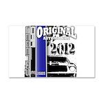 Original Muscle Car Blue Car Magnet 20 x 12