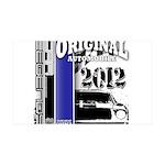Original Muscle Car Blue 38.5 x 24.5 Wall Peel