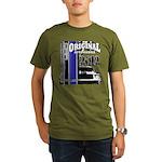 Original Muscle Car Blue Organic Men's T-Shirt (da