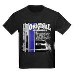 Original Muscle Car Blue Kids Dark T-Shirt