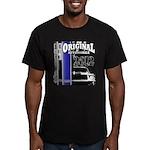 Original Muscle Car Blue Men's Fitted T-Shirt (dar