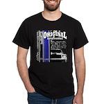 Original Muscle Car Blue Dark T-Shirt