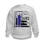 Original Muscle Car Blue Kids Sweatshirt