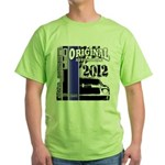 Original Muscle Car Blue Green T-Shirt