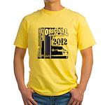 Original Muscle Car Blue Yellow T-Shirt