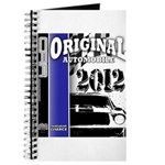 Original Muscle Car Blue Journal