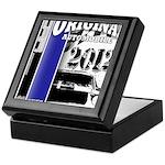 Original Muscle Car Blue Keepsake Box