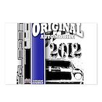Original Muscle Car Blue Postcards (Package of 8)
