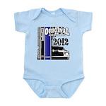 Original Muscle Car Blue Infant Bodysuit