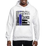 Original Muscle Car Blue Hooded Sweatshirt