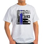 Original Muscle Car Blue Light T-Shirt