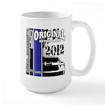 Original Muscle Car Blue Large Mug