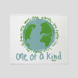 One Earth Throw Blanket