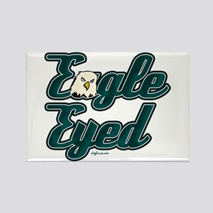 Eagle Eyed Rectangle Magnet