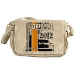 Original Muscle Car Orange Messenger Bag