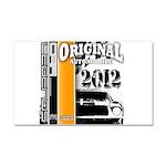 Original Muscle Car Orange Car Magnet 20 x 12