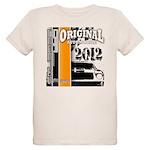 Original Muscle Car Orange Organic Kids T-Shirt