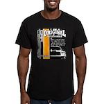 Original Muscle Car Orange Men's Fitted T-Shirt (d